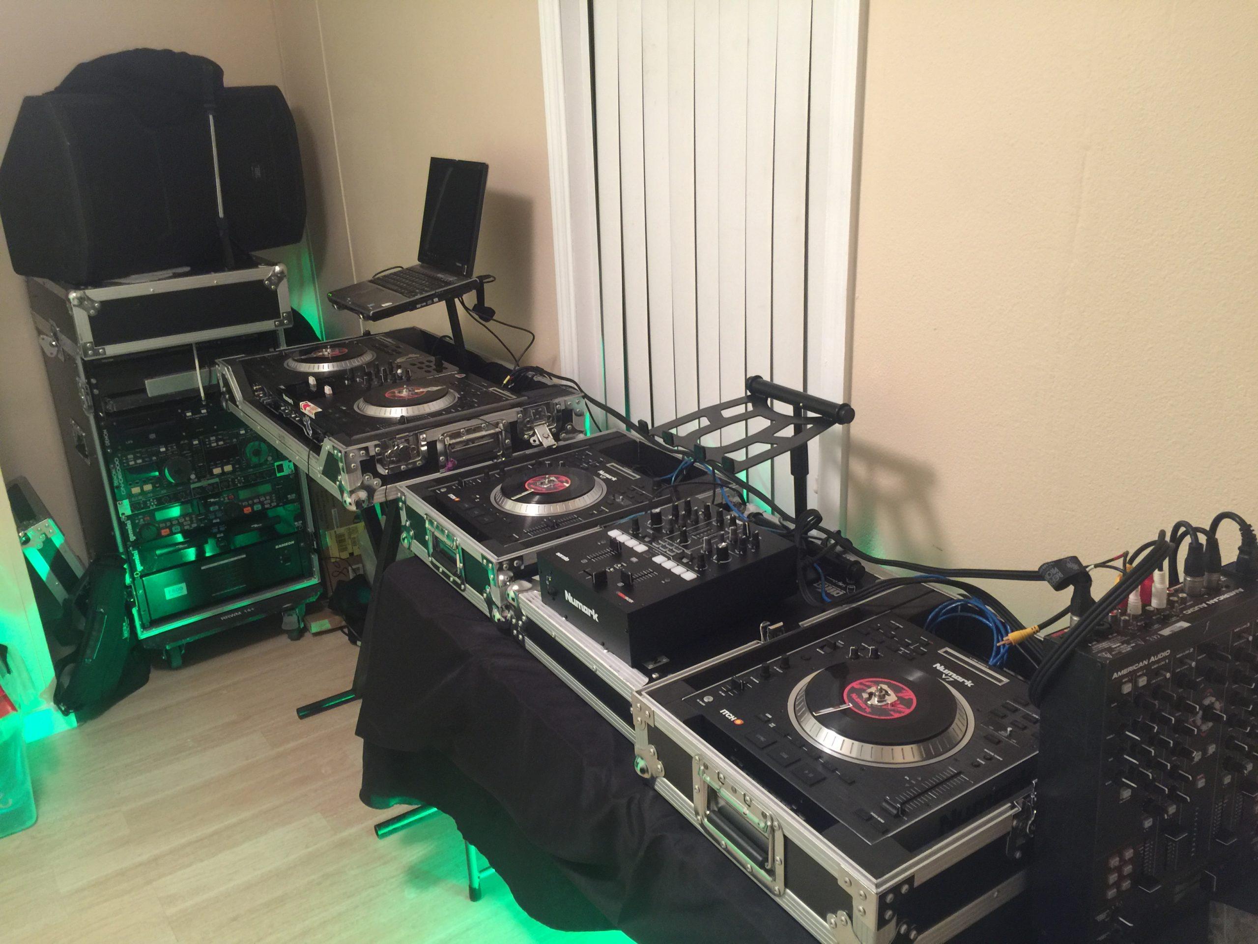 DJ 2RO SET UP